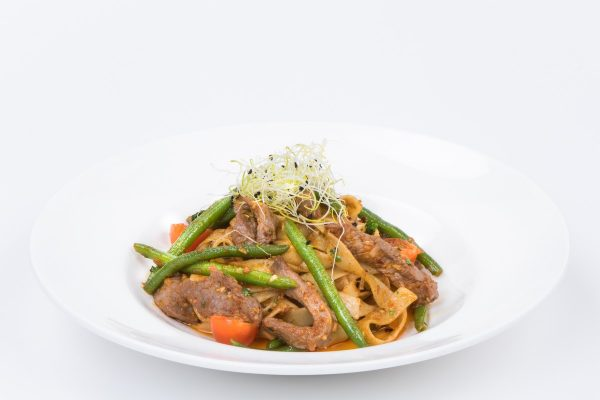 Mild Tagliatelle with roasted beef