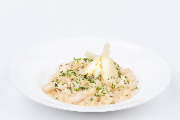 Creamy risotto with Porcini Mushrooms